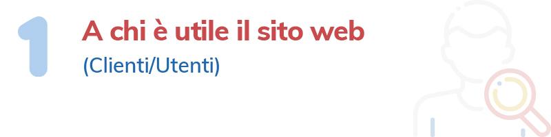 Icona e titolo della casella n. 1 del WMC: a chi è utile il sito web